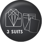 Presidential Suits - 3 suits package